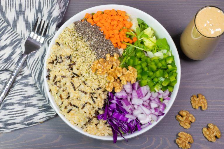 I Want ToFU Salad
